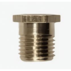 Chicoleta de bronce 3/8 x8mm por caño roscado