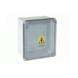 Caja paso genrod 06-162111bt hp pvc ip65 exterior blanca...
