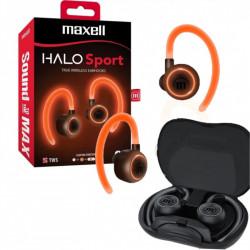 Auriculares maxell bt-halo sport bluetooth manos libres...