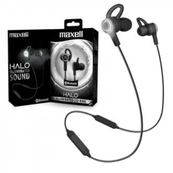 Auricular maxell bt in-ear halo manos libres con anillo...