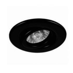 Spot san lorenzo de embutir gu10 móvil color negro de 80mm