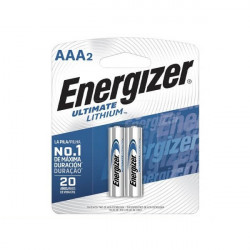 Pila de litio aaa energizer ultimate lithium 1,5v blister...
