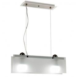 Colgante ferrolux c-208 diseño sevilla acero y vidrio 2...