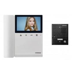 Video portero commax kit-cdv-43k frente cuadrado pin hold