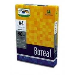 Resma boreal 500 hojas papel a4 80gr