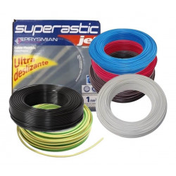 Rollo de cable unipolar prysmian de 1.0mm2 x 100 metros