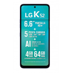 Teléfono celular libre lg k52 64gb 4gb ram