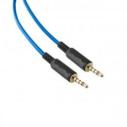 Cable auxiliar soul jack 3.5 a 3.5mm de 2 metros colores...