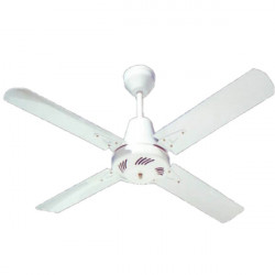 Ventilador de techo emilux 410 metal blanco 4 palas 1.20m...