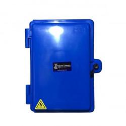 Gabinete cabrera cg 342 polipropileno tapa azul 335x 240x...
