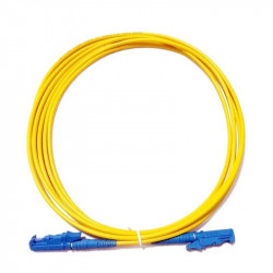 Patchcord fibra óptica monomodo e2000-fc duplex 3m