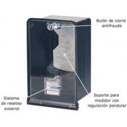 Caja para medidor trifasico s/reset (conextube)