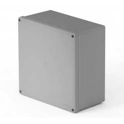 Caja de paso genrod 22313111b pvc ip65 blanca 310x310x110