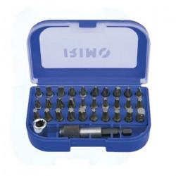 Set de puntas irimo 475 con caja 32 piezas de 1/4''...