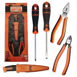 Set de herramientas bahco ff1e5017eha surtidas de 5 piezas