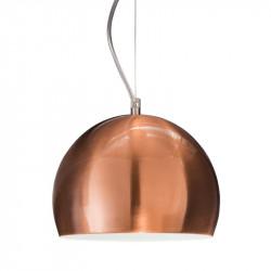 Colgante markas alyssa 1872/c1u 1 luz e27 23cms cobre...