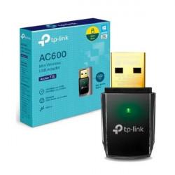 Adaptador wifi tp-link t2u inalámbrica usb de doble banda...