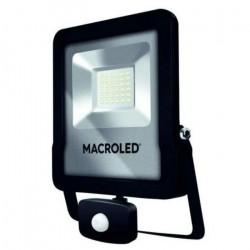 Proyector led macroled sflsv2 30w ip65 6500ºk luz fria...