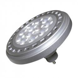 Lámpara led makroled ar111 15 w 2700ºk gu10 dimerizable gris