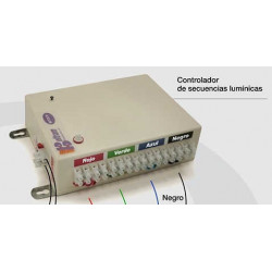 Electronica de control beltram hasta 10 plaquetas de led