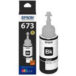 Botellon para epson original negro t673120 (673)