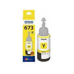 Botellon para epson original amarillo t673420 (673)