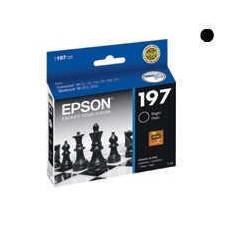 Cartucho para epson original negro t197120 (197)