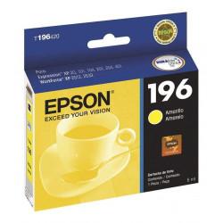 Cartucho para epson original amarillo t196420al (196)