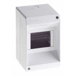 Hp caja tm pvc din exterior  s/puerta 2 a 4 mod.blanco