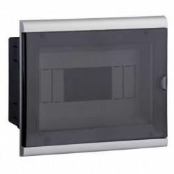 Caja para termica genrod de pvc para embutir 4-8 modulos din