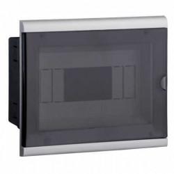 Caja para termica genrod de pvc para embutir 8 modulos din