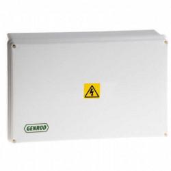 Caja paso genrod pvc ip65 ext.blanca 210x310x110 opaca