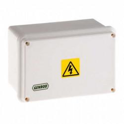 Caja paso genrod pvc ip65 ext.blanca 115x165x110 opaca
