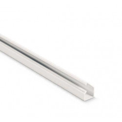 Dexson 25x25 cablecanal c/adhes,blanco (tira x 2mts)