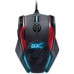 Mouse genius gila gamer profesional mmo/rts usb