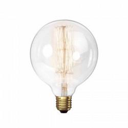 Lámpara led tbc vintage g125-f8ww globo e27 8w