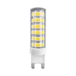 Lámpara led tbc bipin g9-smd 6w luz cálida