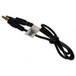 Cable p/audio 3.5 stereo m/m  0.50m nscau35s05      nisuta