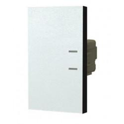 Módulo interruptor jeluz platinum tecla triple 10a blanco