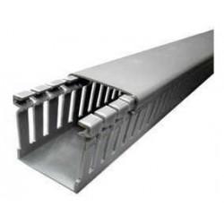 Dexson cablecanal ranurado gris 100x100 x 2mts.