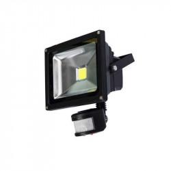 Proyector led silver light qrefl000012 de 10w