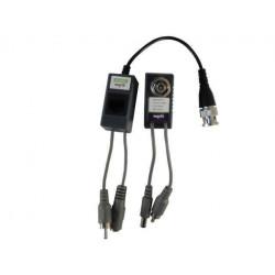 Kit 2 balun pasivos video audio energia