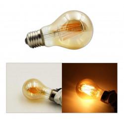 Lámpara led tbc vintage bulbo a60-s8ww e27 8w luz cálida