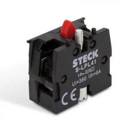 Contacto auxiliar 1 nc steck s-lpl41