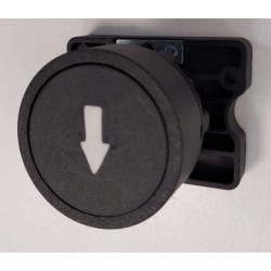 Steck pulsador plastico flecha bajar