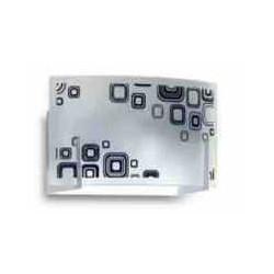 Ros bahia cuadros difusor rect. 1 luz 20x23cms