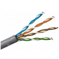 Cable utp netcore para interior cat 5e por metro