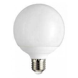 Lámpara led tbc globo g120-al e27 20w luz cálida