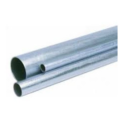 Caño pilar  liviano galvanizado  11/4  3mts