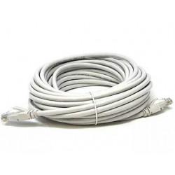 Cable armado de red (patchcord) categoria 5e de 30 metros...